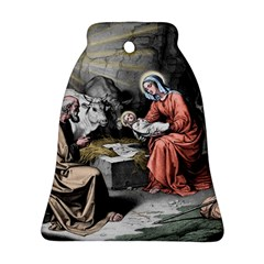 The Birth Of Christ Ornament (bell)