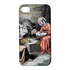 The Birth Of Christ Apple Iphone 4/4s Hardshell Case With Stand by Valentinaart