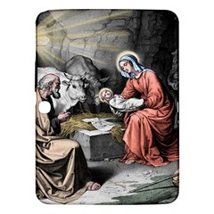The Birth Of Christ Samsung Galaxy Tab 3 (10 1 ) P5200 Hardshell Case  by Valentinaart
