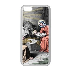 The Birth Of Christ Apple Iphone 5c Seamless Case (white) by Valentinaart