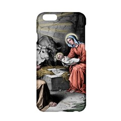 The Birth Of Christ Apple Iphone 6/6s Hardshell Case by Valentinaart
