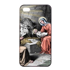 The Birth Of Christ Apple Iphone 4/4s Seamless Case (black) by Valentinaart