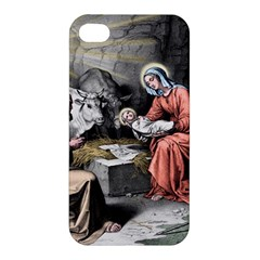 The Birth Of Christ Apple Iphone 4/4s Hardshell Case by Valentinaart