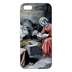 The Birth Of Christ Iphone 5s/ Se Premium Hardshell Case by Valentinaart