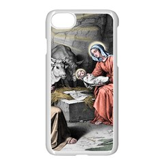 The Birth Of Christ Apple Iphone 7 Seamless Case (white) by Valentinaart