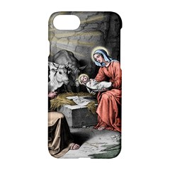 The Birth Of Christ Apple Iphone 8 Hardshell Case by Valentinaart