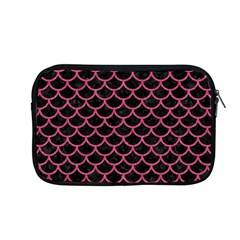 Scales1 Black Marble & Pink Denim (r) Apple Macbook Pro 13  Zipper Case by trendistuff