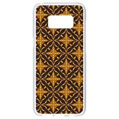 Christmas Pattern Samsung Galaxy S8 White Seamless Case by tarastyle