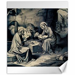 The Birth Of Christ Canvas 8  X 10  by Valentinaart