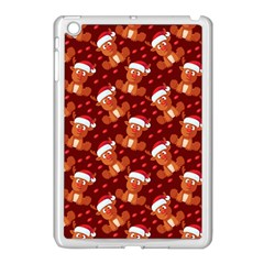 Christmas Pattern Apple Ipad Mini Case (white) by tarastyle