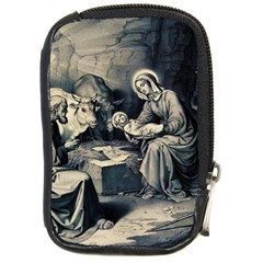 The Birth Of Christ Compact Camera Cases by Valentinaart