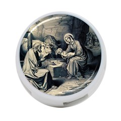 The Birth Of Christ 4 Port Usb Hub (two Sides)  by Valentinaart