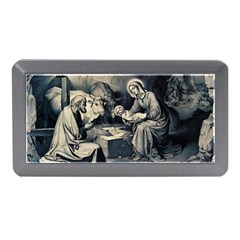 The Birth Of Christ Memory Card Reader (mini) by Valentinaart