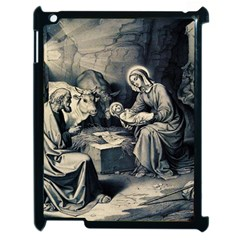The Birth Of Christ Apple Ipad 2 Case (black) by Valentinaart