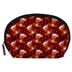 Christmas Pattern Accessory Pouches (large)  by tarastyle