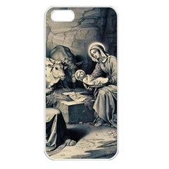 The Birth Of Christ Apple Iphone 5 Seamless Case (white) by Valentinaart