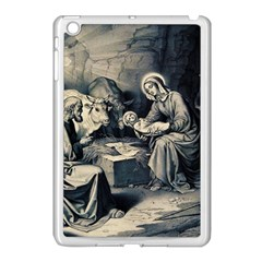 The Birth Of Christ Apple Ipad Mini Case (white) by Valentinaart
