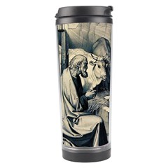 The Birth Of Christ Travel Tumbler by Valentinaart