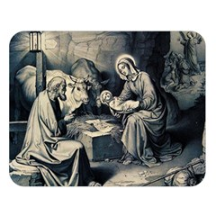 The Birth Of Christ Double Sided Flano Blanket (large)  by Valentinaart