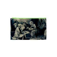 The Birth Of Christ Cosmetic Bag (xs) by Valentinaart