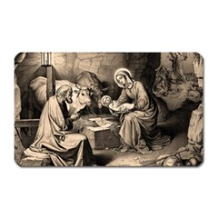 The Birth Of Christ Magnet (rectangular) by Valentinaart