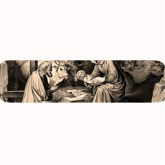 The Birth Of Christ Large Bar Mats by Valentinaart