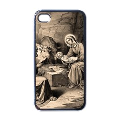 The Birth Of Christ Apple Iphone 4 Case (black) by Valentinaart