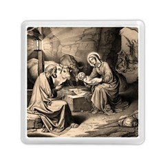 The Birth Of Christ Memory Card Reader (square)