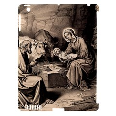 The Birth Of Christ Apple Ipad 3/4 Hardshell Case (compatible With Smart Cover) by Valentinaart
