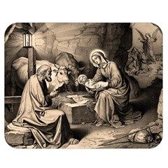 The Birth Of Christ Double Sided Flano Blanket (medium)