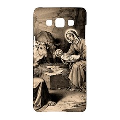 The Birth Of Christ Samsung Galaxy A5 Hardshell Case  by Valentinaart