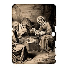 The Birth Of Christ Samsung Galaxy Tab 4 (10 1 ) Hardshell Case  by Valentinaart
