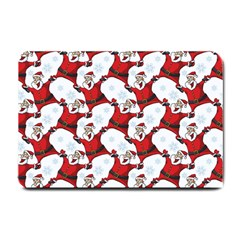 Christmas Pattern Small Doormat  by tarastyle