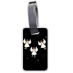Christmas Angels  Luggage Tags (one Side)  by Valentinaart