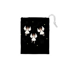 Christmas Angels  Drawstring Pouches (xs)