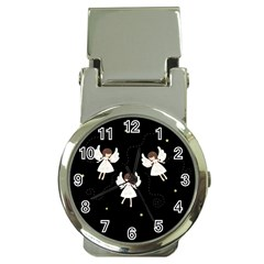 Christmas Angels  Money Clip Watches