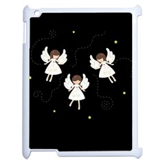 Christmas Angels  Apple Ipad 2 Case (white)