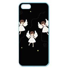 Christmas Angels  Apple Seamless Iphone 5 Case (color)