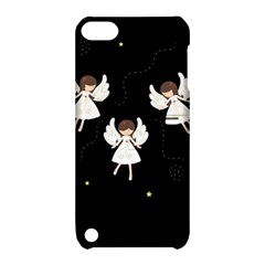 Christmas Angels  Apple Ipod Touch 5 Hardshell Case With Stand by Valentinaart