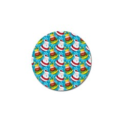 Christmas Pattern Golf Ball Marker (4 Pack) by tarastyle