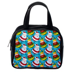 Christmas Pattern Classic Handbags (one Side) by tarastyle