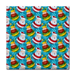 Christmas Pattern Face Towel by tarastyle