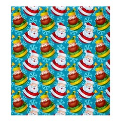 Christmas Pattern Shower Curtain 66  X 72  (large)  by tarastyle