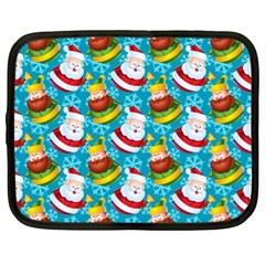 Christmas Pattern Netbook Case (xl)  by tarastyle