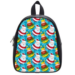 Christmas Pattern School Bag (small) by tarastyle