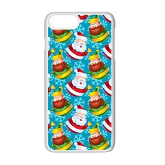 Christmas Pattern Apple Iphone 7 Plus Seamless Case (white) by tarastyle