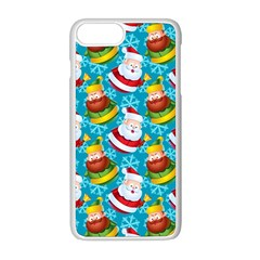 Christmas Pattern Apple Iphone 8 Plus Seamless Case (white) by tarastyle