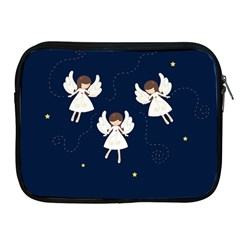 Christmas Angels  Apple Ipad 2/3/4 Zipper Cases by Valentinaart