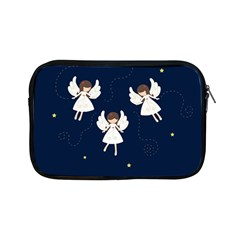 Christmas Angels  Apple Ipad Mini Zipper Cases by Valentinaart