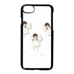 Christmas Angels  Apple Iphone 7 Seamless Case (black) by Valentinaart